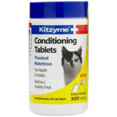 Kitzyme Cat Conditioning Tablets 100 Tablets