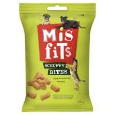 Misfits Scruffy Bites - Meat Dog Treats 180g