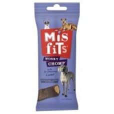 Misfits Wonky Chomp - Liver Dog Chews 170g