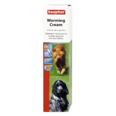 Beaphar Cat and Dog Worming Cream 18g