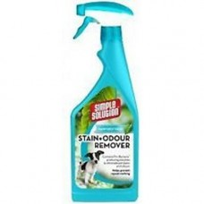 Simple Solution Dog Stain and Odour Remover Spray - RAINFOREST 750ml