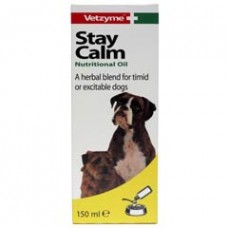 Vetzyme Stay Calm Oil 150ml