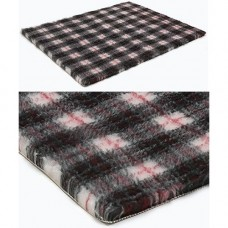 Vetbed Non Slip Grey Tartan - 10m x 0.76m Half Roll