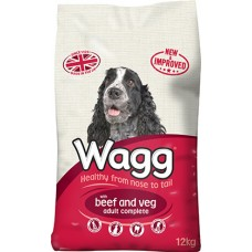 Wagg Complete Beef and Veg 12kg