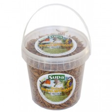 Supa Dried Mealworms 1000ml - 1L