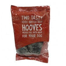 Woof and Chew Filled Beef Hooves 2 Pack