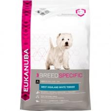 Eukanuba 2x West Highland Terrier Dog Food 7.5kg (15kg)